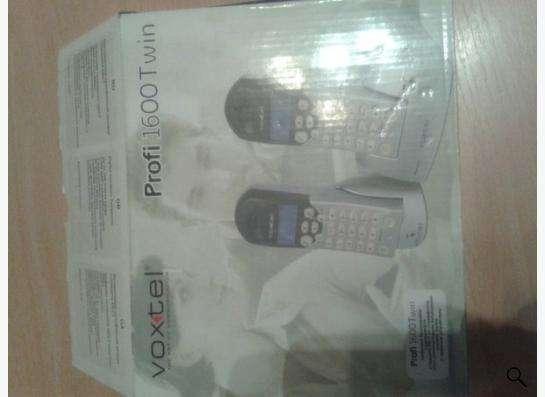 «Телефон бесшнуровой VOXTEL Profi 1600 Twin»,