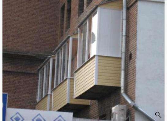 Остекление балконов и лоджий в Жуковском