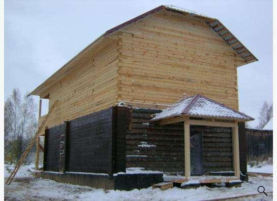 деревянная изба