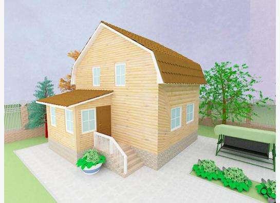 Готовый проект дома 1-6