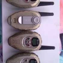 Продаю или пром. рации на батар.- CONNECT Style plus. 4 шт, в Екатеринбурге