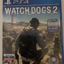 Игра на ps 4 Watch dogs 2, в Колпино