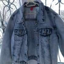 Укороченная джинсовая куртка для девочек, в Чите