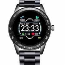 Мужские Смарт Часы Smart Lige Omega Black, в г.Кременчуг