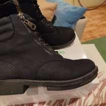 Продаю зимние ботинки, нубук натуральный, б/у, в Кургане
