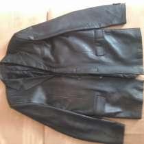 Продам новый кожаный пиджак!, в Феодосии