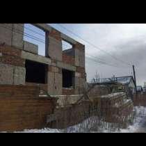 Продам земельный участок с недостроенным домом, в г.Павлодар