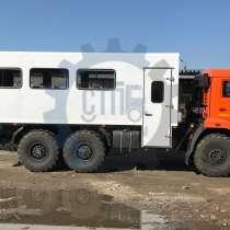 Вахтовый автобус, вахтовка на базе КАМАЗ, в Сургуте