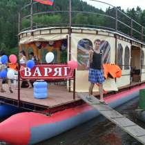 ВИП сплавы по реке Мана, в Красноярске