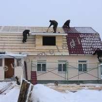 Кровельные работы, крыши, мягкая кровля, метало-черепица, в Сергиевом Посаде