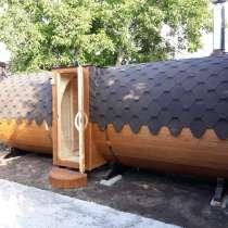 Баня-бочка 5,7 метров, в Краснодаре