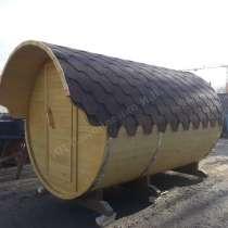 Баня бочка 3 метра, в Краснодаре
