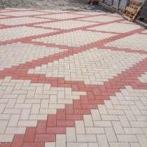 Укладка тротуарной плитки, в Москве