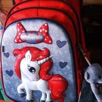 Рюкзак детский с брелоком для девочек, в Москве