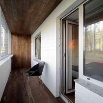 Утепление обшивка балконов установка дверей в Альметьевске, в Альметьевске