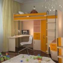 Детская кровать чердак м 85, в Москве
