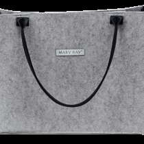 Светло-серая фетровая сумка Mary Kay, в Санкт-Петербурге