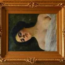 Антикварные картины масло 19 век, в г.Минск