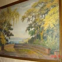 Старая картина, в Москве