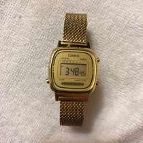 Часы золотые Casio оригинальные, в Таганроге