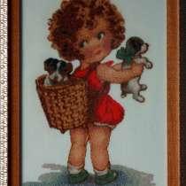 Картина«Приятные хлопоты», ручная работа, вышивка, в г.Минск