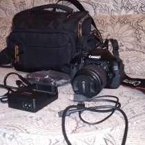 Зеркальный фотоаппарат Canon EOS 600D, в Хабаровске