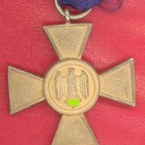 Германия 3 рейх Крест 25 лет выслуги в Вермахте, в Орле