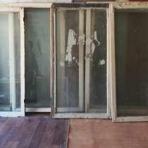 Продаются деревянные,. застекленные оконные рамы 10 шт, в г.Астана