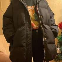 Продам зимнюю женскую куртку оверсайз, в Хабаровске