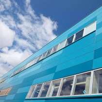 Панели HPL для наружной отделки фасада, фасадный пластик HPL, в Москве