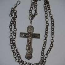 Крест иерейский наперсный, нач. ХХ века, в Санкт-Петербурге