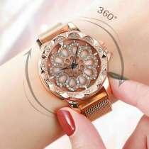 Стильные женские часы Chanel Flower Diamond, в г.Алматы