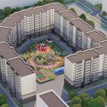 3х комн СЭЛФОРТ 1 этап чистовая кирпичный дом сдача 2021 год, в Красноярске