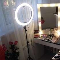 Кольцевая лампа LED (светодиодная) для индустрии красоты, в г.Шымкент