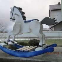 Лошадка качалка для ребенка от 2 до 6 лет. Сделана из дерева, в г.Минск