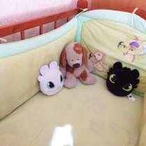 Детская кроватка-кочалка, в Омске