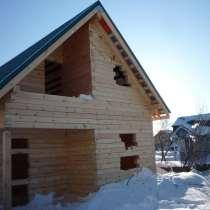 Строительство домов, дач, бань, в Новосибирске