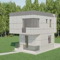 Строительство дачного дома - дома Hi-Tech, в Челябинске