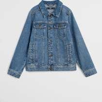 Куртка новая джинсовая Mango на мальчика синяя 146 152 см XS, в Москве