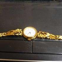 Позолоченные женские новые часы Чайка с браслетом, в Красногорске