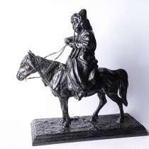 Статуэтка Киргиз с Трубкой На Лошади Касли 1880год, в Москве