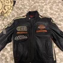 Мото куртка. Harley-Davidson. Байкерская куртка, в Санкт-Петербурге