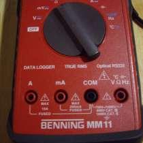 Цифровой мультиметр BENNING MM -11 - Германия. 2 штуки, в Челябинске