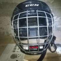 Новый хоккейный шлем, в Кушве