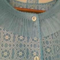 Голубой халат новый нежный с карманами, в г.Баку