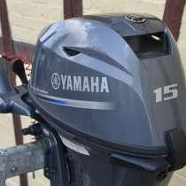 Лодочный мотор Ямаха F15, в Москве