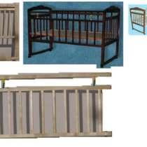 Кровать Ника №2; Новая; КОЛЕСО+КАЧАЛКА 120*60см; Евровинты, в Самаре
