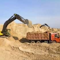 Песок для строительных работ любых фракций, в Чите