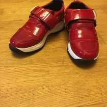 Кожаные кроссовки 37 размер, в Киришах