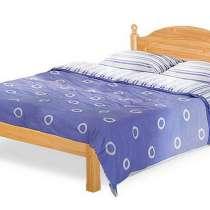 Кровать двуспальная массив сосны, в г.Минск